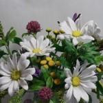 Творчество Татьяны Пянзиной. Цветы из полимерной глины.