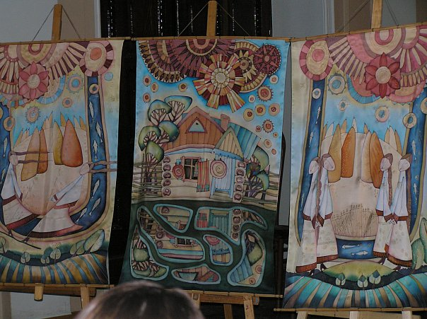 Декоративная роспись дипломная работа  Конспект занятия по рисованию в средней группе на тему Весна