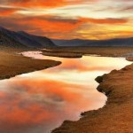 Ручей и пустыня