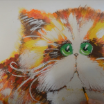 Как нарисовать кота (мастер-класс от Александры Сениной)